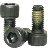 SOCKET HEAD CAP SCREWS, NYLON PATCH, THERMAL BLACK OXIDE ALLOY (INCH)
