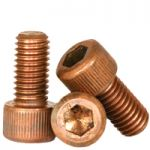 SOCKET HEAD CAP SCREWS, SILICON BRONZE, PLAIN (INCH)