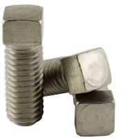 STAINLESS 18 8 CUP POINT SQUARE HEAD SET SCREW (INCH)