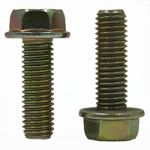 METRIC 10.9 HEX FLANGE SCREW, NON SERRATED, DIN 69219, ZINC YELLOW