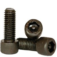 SOCKET HEAD CAP SCREWS, TAMPER RESISTANT, THERMAL BLACK OXIDE, ALLOY (INCH)